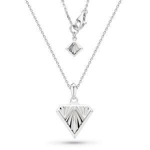 Kit Heath Empire Deco Diamond Shape Necklace 90401RP029