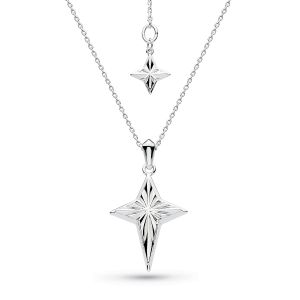Kit Heath Empire Astoria Star Cross Necklace 90407