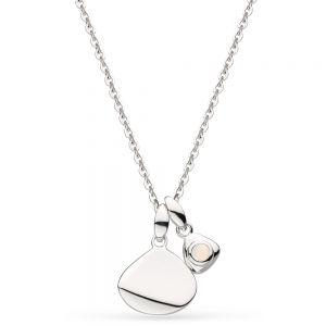 Kit Heath October Birthstone Opal Tag Necklace 9102SO