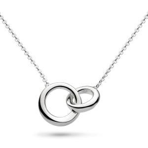 Kit Heath Bevel Cirque Link Silver Necklace 9188HO020