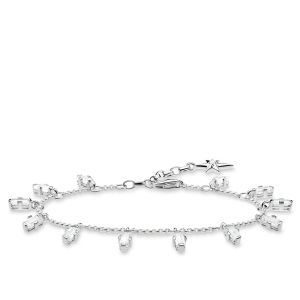 Thomas Sabo Bracelet Angular Stones with Baguette Cut