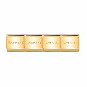 Nomination Classic Gold Stainless Steel Starter Bracelet