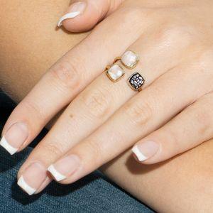 Sarah Alexander Alter Ego Triple Gemstone Ring