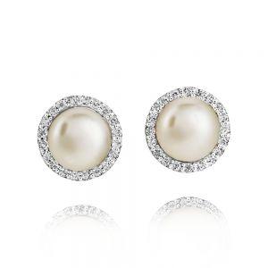 Jersey Pearl Amberley Cluster Earrings 1703245