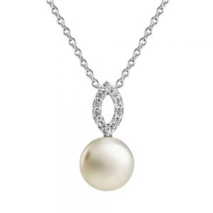 Jersey Pearl Open Cluster Pendant