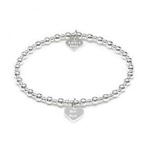 Annie Haak Mini Orchid Silver Charm Bracelet - Best Mum