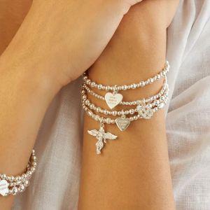 Annie Haak Biji Silver Charm Bracelet - My Guardian Angel