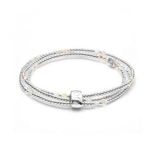 Annie Haak Blissful Swarovski Silver Looped Bracelet