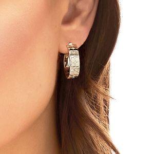Annie Haak Circulo Silver Earings-E0274