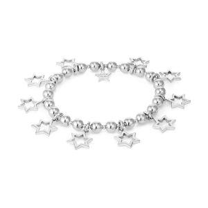 Annie Haak Cluster of Stars Silver Bracelet B2172-17