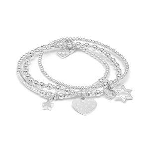 Annie Haak Delight Silver Bracelet Stack BS221-17