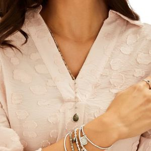 Annie Haak Labradorite Silver Necklace  N0544-64