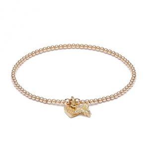 Annie Haak Santeenie Tiny Bee Gold Bracelet B0324-17, B0324-19