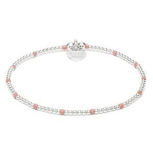 Annie Haak Serasi Pink Silver Bracelet