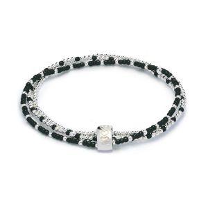 Annie Haak Serasi Tiga Hematite Silver Bracelet B2166-17