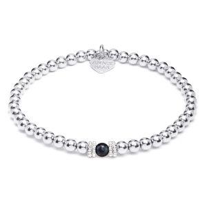 Annie Haak Seri Hematite Silver Bracelet B2161-17