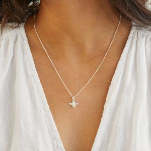Annie Haak Tiny Bee Silver Necklace