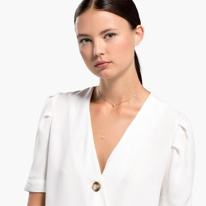 Swarovski Attract Soul Necklace - Rose Gold Plating - 5539007