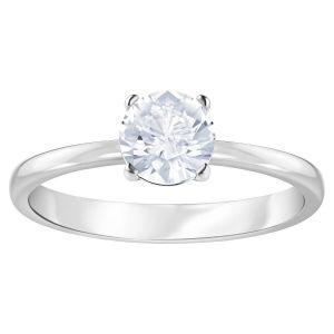 Swarovski Attract Round Ring, White, Rhodium Plating 5412023, 5412078, 5402429, 5368542, 5402428