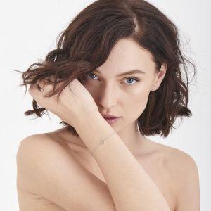 Ania Haie Shimmer Single Stud Bracelet, Silver B003-01H