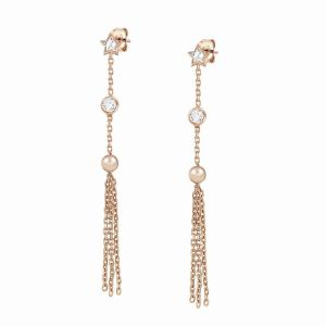 Nomination long Bella dream Rose Gold earrings