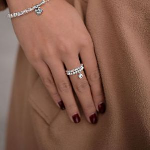 Annie Haak Blissful Swarovski Silver Ring