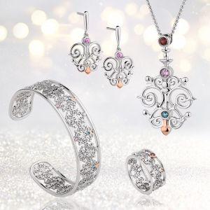 Clogau Bohemia Pink Sapphire Earrings 3SFLDE4