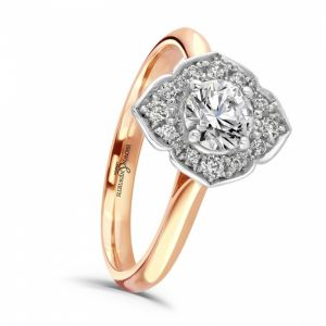 Brown & Newirth 'Regan' Vintage Style Engagement Ring