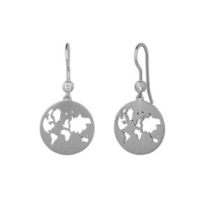 byBiehl Beautiful World Silver Earrings