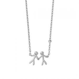 byBiehl Together My Love Silver Necklace