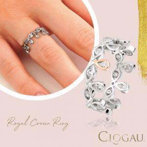 Clogau Royal Crown Ring 3SRCSR