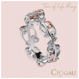 Clogau Tree of Life Intricate Ring 3STOLR4