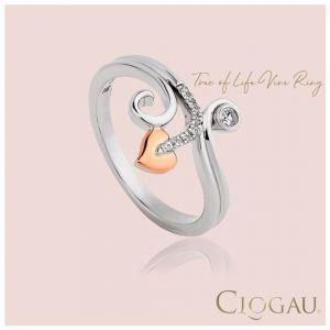 Clogau Tree of Life Vine Ring 3STLWPVR