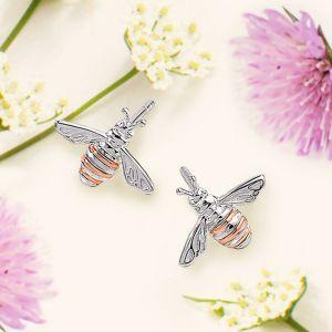 Clogau Honey Bee Stud Earrings 3SQNBE