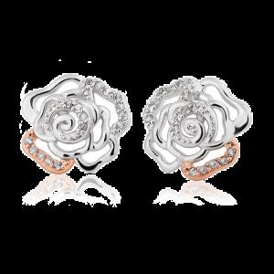 Clogau Royal Roses Topaz Stud Earrings 3SRORE3