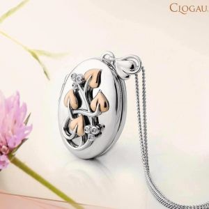 Clogau Tree Of Life Diamond Locket 3STOLLP2