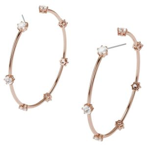 Swarovski Constella Hoop Earrings - Rose Gold Tone Plated 5609706