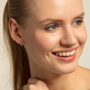 Thomas Sabo Classic Mini Hoop Earrings - Rose Gold CR607-415-12