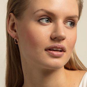 Thomas Sabo Classic Medium Hoop Earrings - Rose Gold CR609-415-12