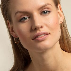 Thomas Sabo Classic Large Hoop Earrings - Rose Gold CR610-415-12
