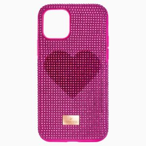 Swarovski Crystalgram Pink Heart Smartphone Case - iPhone 11 Pro