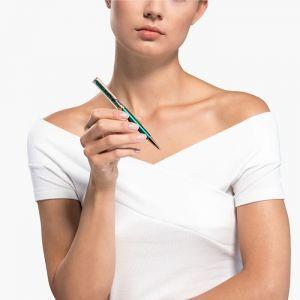 Swarovski Crystalline Ballpoint Pen, Blue, Rose Gold Plating