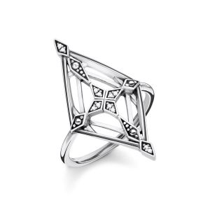 Thomas Sabo Vintage Cross Diamond Ring
