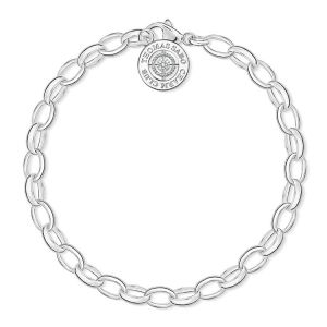 Thomas Sabo Charm Bracelet - Silver and Diamond