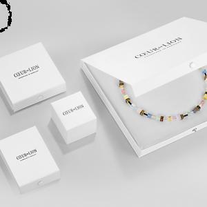 Coeur de Lion Crystals & Gemstones Multicolour Romance GEOCUBE Bracelet