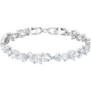 Swarovski Louison Bracelet, White, Rhodium Plating 5419244