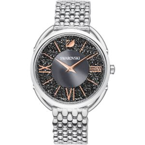 Swarovski Crystalline Glam Watch, Metal Bracelet, Grey, Silver Tone 5452468