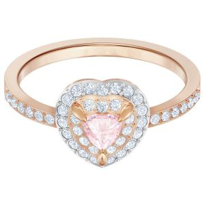 Swarovski One Ring, Multi-Coloured, Rose Gold Plating 5470690, 5439315, 5470692