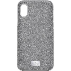 Swarovski High Smartphone Case with Bumper, iPhone® X/XS, Grey