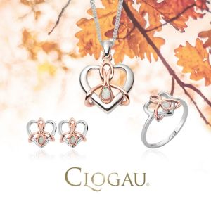 Clogau Dwynwen Opal Stud Earrings - 3SDWSE